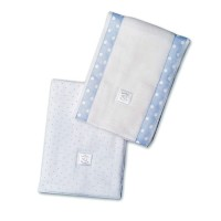 Полотенчики SwaddleDesign Baby Burpie Set Pstl Blue Dot