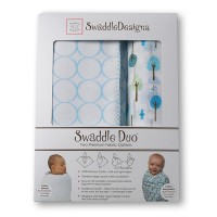 Набор пеленок SwaddleDesigns Swaddle Duo PB Cute