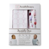 Набор пеленок SwaddleDesigns Swaddle Duo PP Cute& Wild