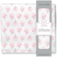 Пеленка муслиновая SwaddleDesigns Pink Spot Tree