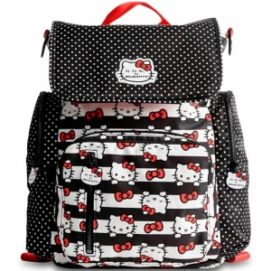 Рюкзак Ju-Ju-Be Be Sporty - Hello Kitty Dots & Stripes